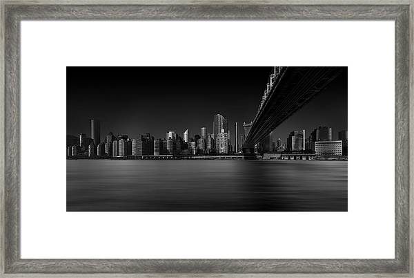 East Side Framed Print by Louis-philippe Provost