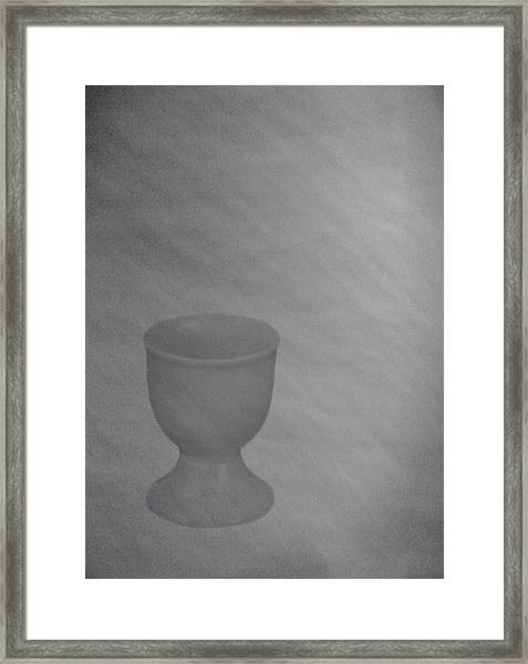 Easter Eggcup Framed Print