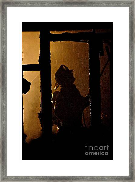 Truck Company Ops. Framed Print
