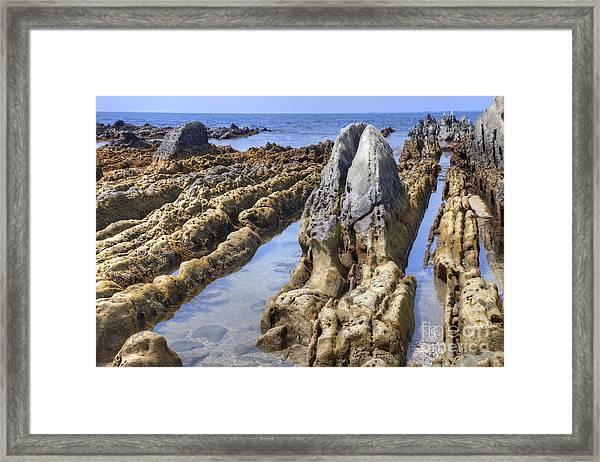 Ebb Tide-3 Framed Print by Tad Kanazaki