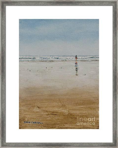 Ebb Tide Framed Print by Dana Carroll