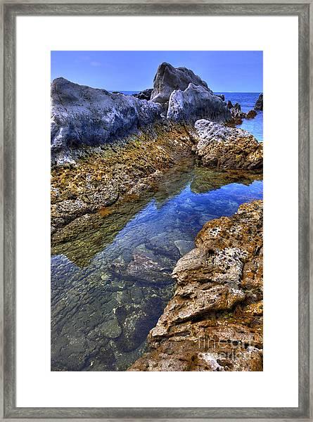 Ebb Tide Framed Print by Tad Kanazaki