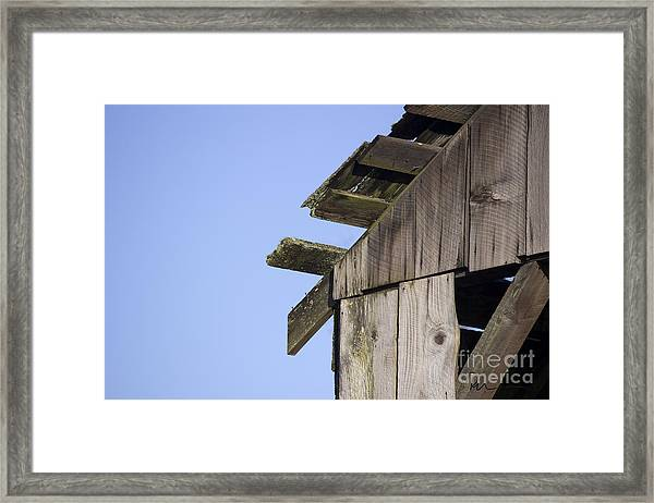 Eby Island Structure Framed Print by Stephen Prestek