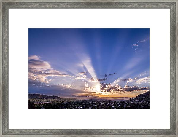 Echo Canyon Framed Print