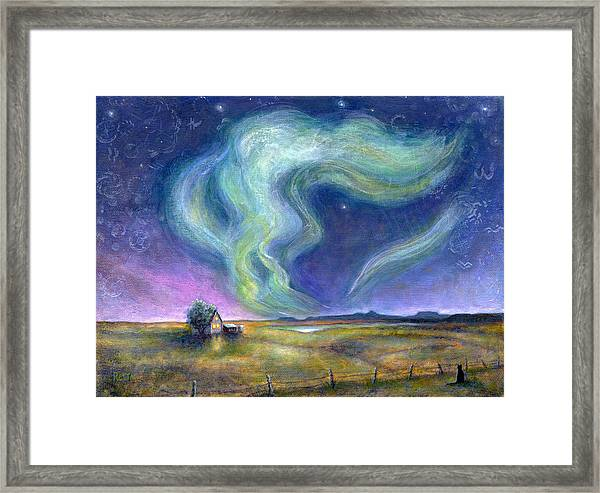 Echoes In The Sky Framed Print