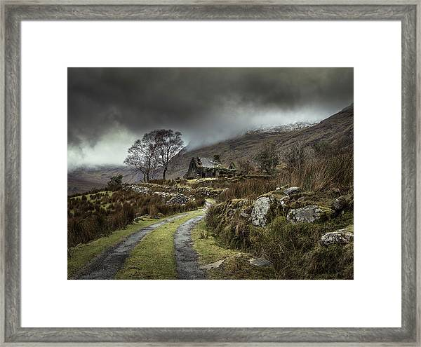 Echoes Of The Past Framed Print by David Ahern
