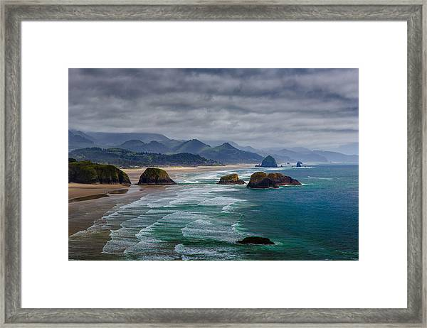 Ecola Viewpoint Framed Print