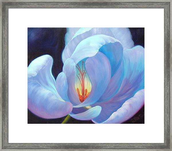 Framed Print featuring the painting Ecstasy by Sandi Whetzel