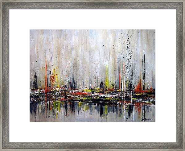 Edge Of Perception Framed Print