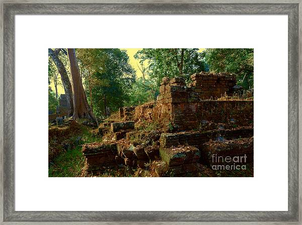 Edge Of Ruin Framed Print