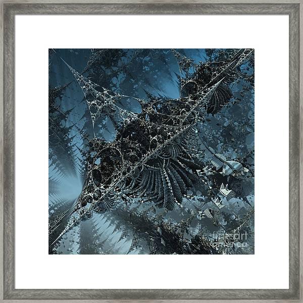 Edges Framed Print