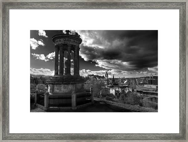 Edinburgh From Calton Hill Framed Print