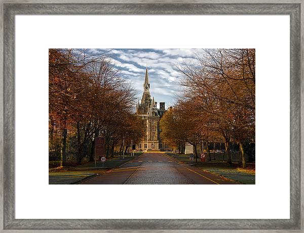 Edinburgh's Fettes College Framed Print