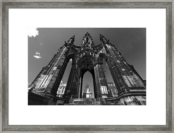 Edinburgh's Scott Monument Framed Print