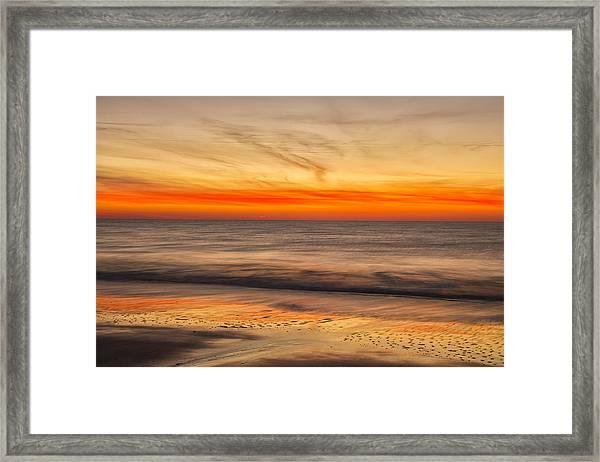 Edisto Beach Sunrise 10 Framed Print