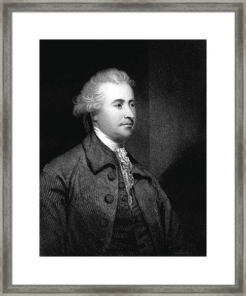 Edmund Burke Framed Print