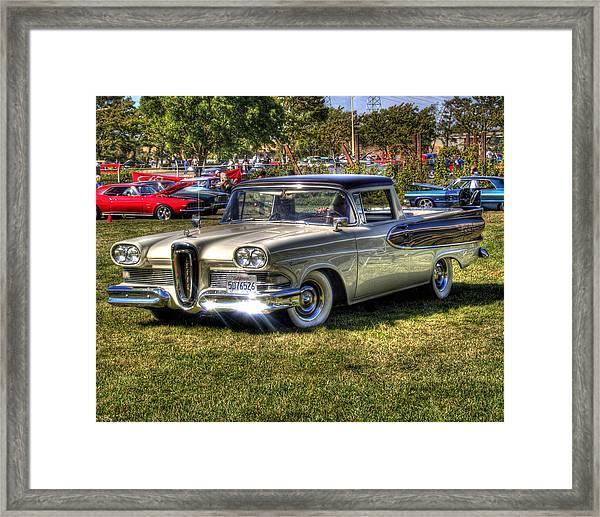 Edsel Ranchero Framed Print