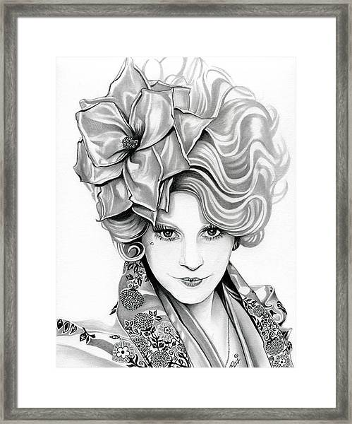 Effie Trinket - The Hunger Games Framed Print