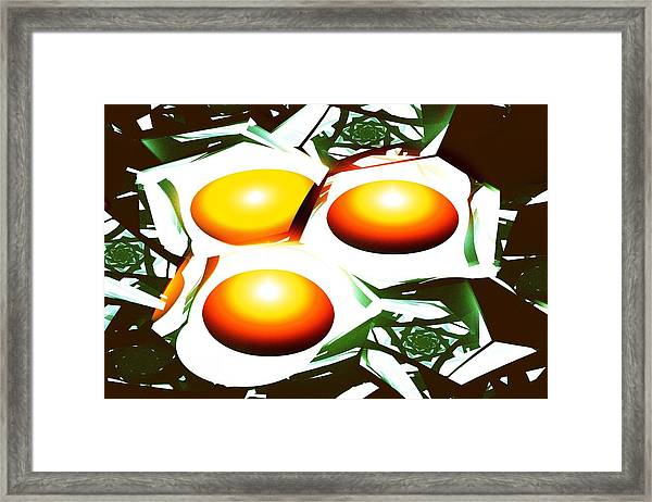 Eggs For Breakfast Framed Print