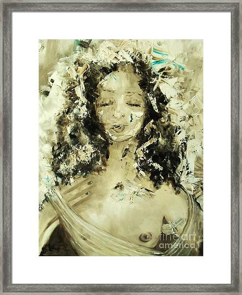 Egyptian Goddess Framed Print