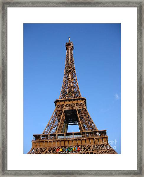 Eiffel Tower 2005 Ville Candidate Framed Print