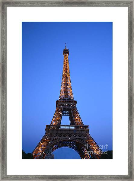 Eiffel Tower - Tour Eiffel Framed Print