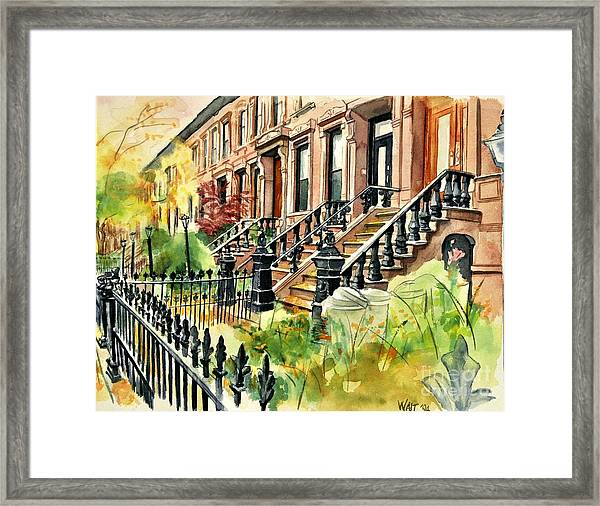 Eighth Street Framed Print