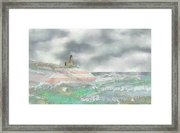 El Faro Framed Print