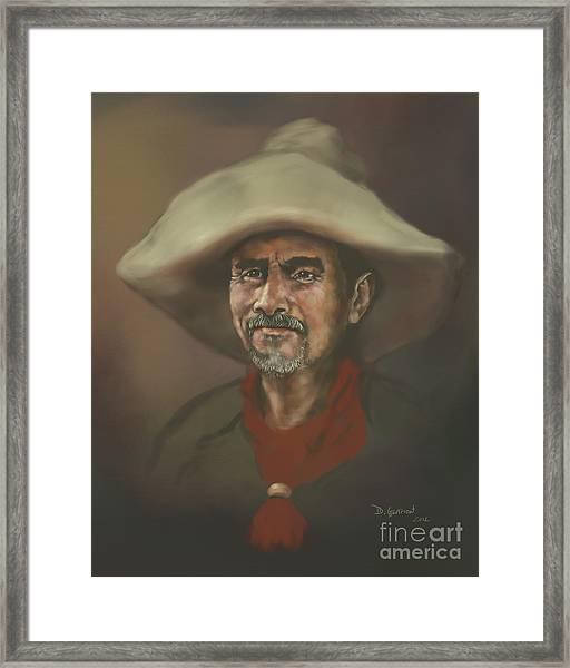 El Mestizo Framed Print