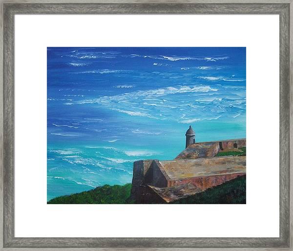 El Morro II Framed Print