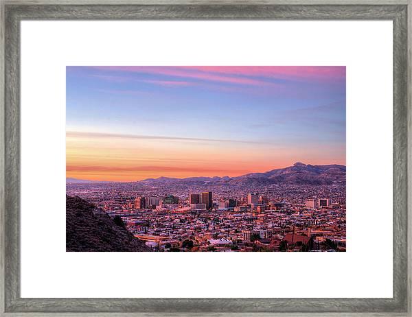El Paso Framed Print