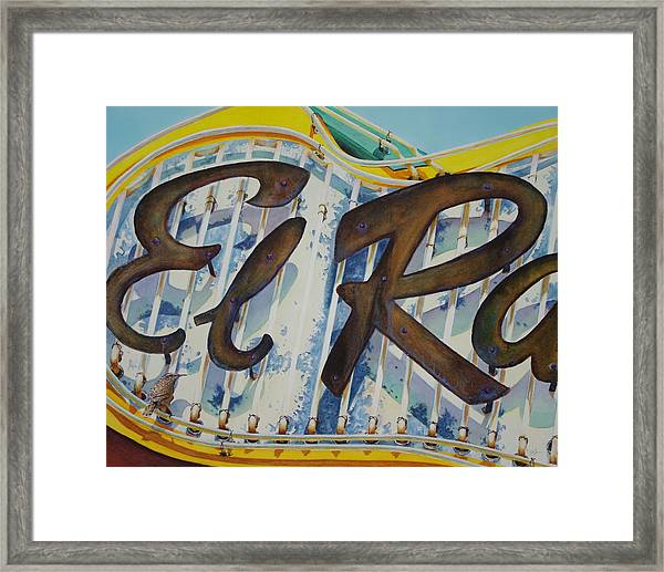 El Ray Framed Print