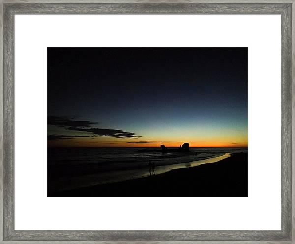 El Tunco Framed Print