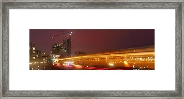 Elbe Philharmonic Hall Framed Print