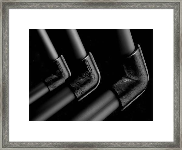 Elbows Framed Print