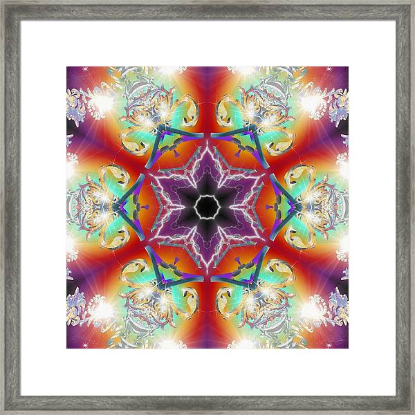 Electric Enlightenment Framed Print
