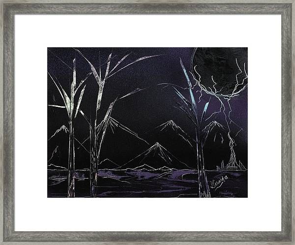 Electric Framed Print