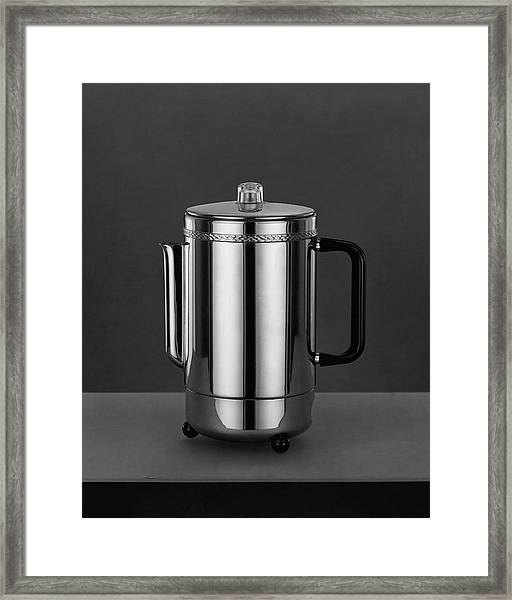 Electric Percolator Framed Print