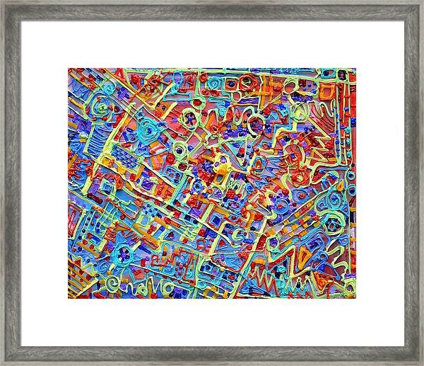 Electronics For Cats Framed Print