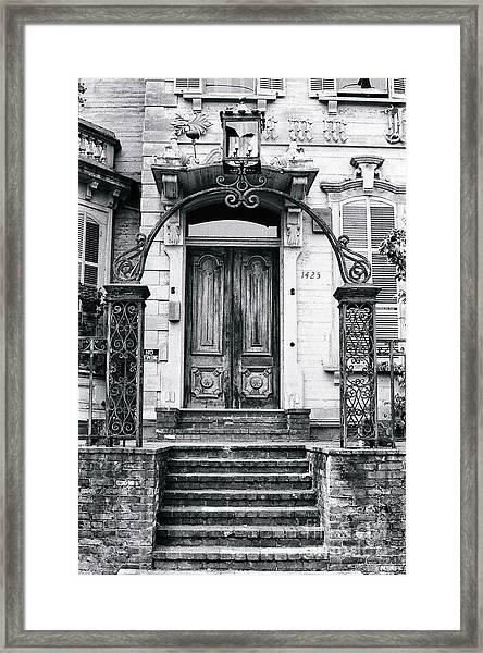 Elegance Past Framed Print
