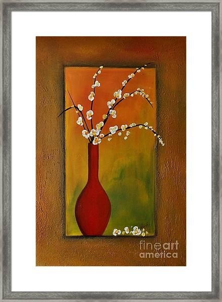 Elegant Bouquet Framed Print
