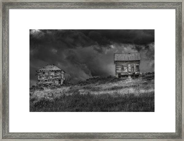 Elemental Deconstruction Framed Print