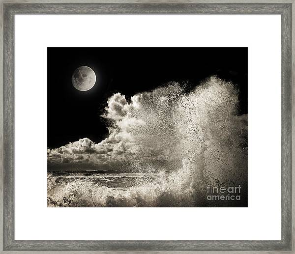Elements Of Power Framed Print