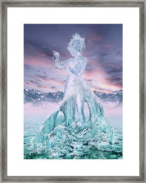 Elements - Water Framed Print