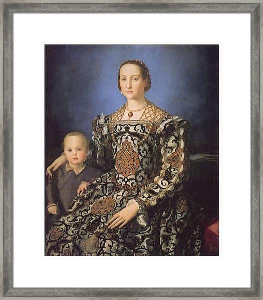 Eleonora Ad Toledo Grand Duchess Of Tuscany Framed Print