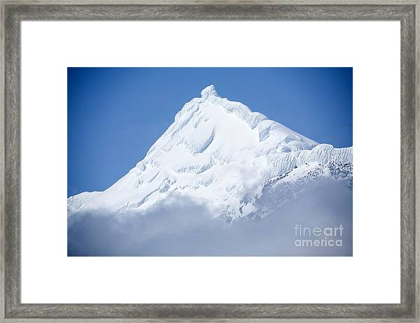 Elephant Island Mountain Peak Framed Print