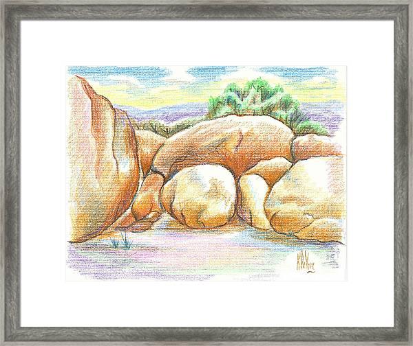 Elephant Rocks State Park II  No C103 Framed Print