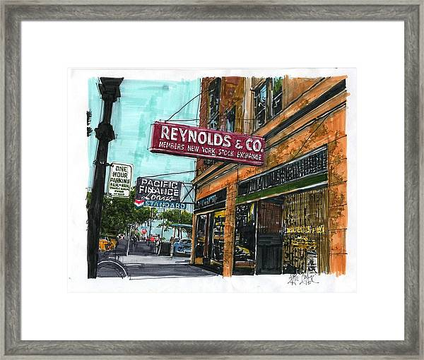 Eleventh And I Streets Framed Print by Paul Guyer