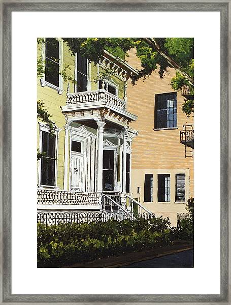 Eleventh And J Framed Print by Paul Guyer