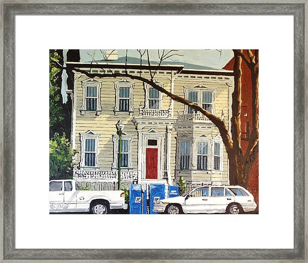Eleventh Between I And J Framed Print by Paul Guyer